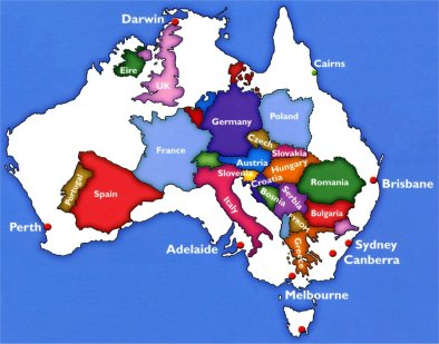 blog voyage travel carte europe australie
