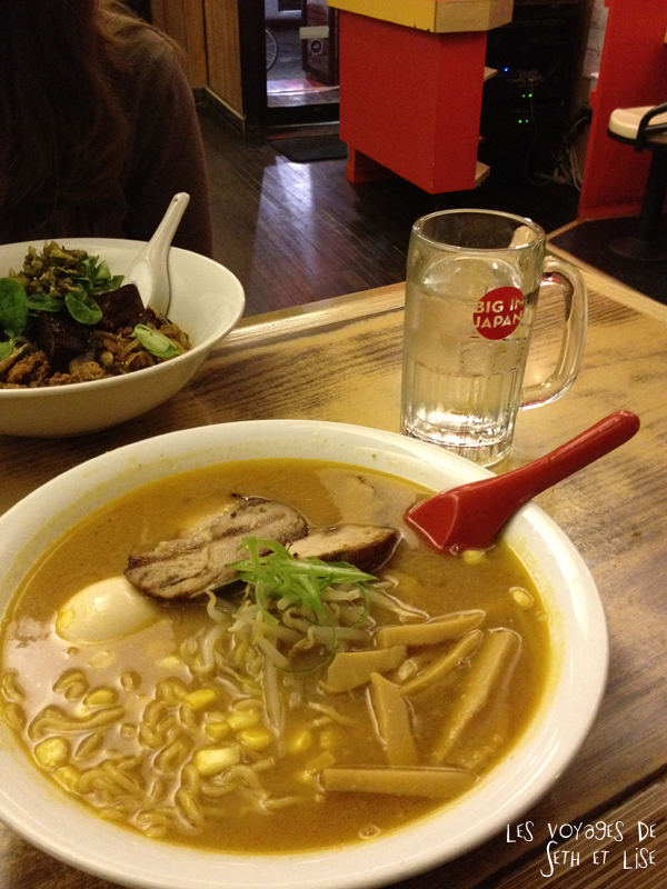 blog pvt tour du monde voyage whv montreal canada japan resto food