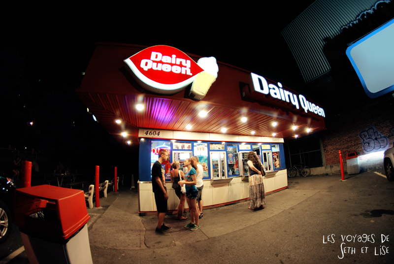 blog canada montreal voyage pvt whv dq daity queen ice cream glace oldschool vintage