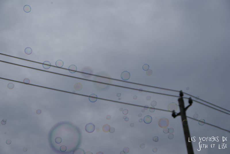 blog canada toronto pvt voyage whv backpack bubble bulles ciel sky