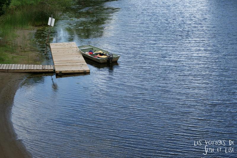 pvt canada toronto couple blog iles island ferry voyage tour du monde barque lac ontario