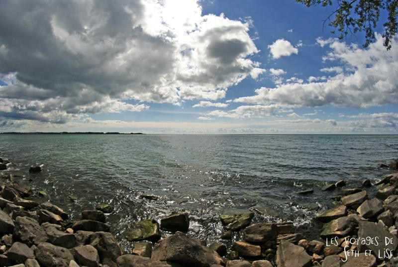 pvt canada toronto couple blog iles island ferry voyage tour du monde cote lac ontario vue