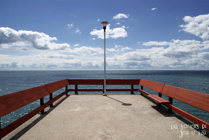 pvt canada toronto couple blog iles island ferry voyage tour du monde lac ontario horizon