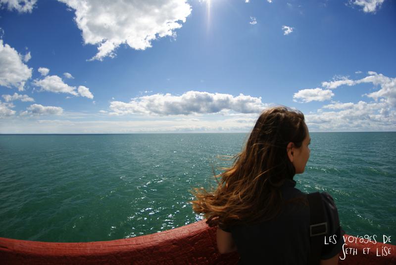 pvt canada toronto couple blog iles island ferry voyage tour du monde lac ontario lise fille