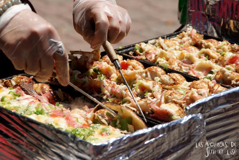 blog voyage canada pvt toronto kensington pedestrian market hippie chill omelette japanese asian