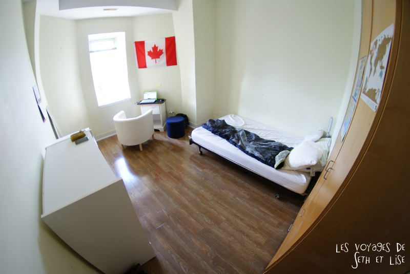 blog voyage canada toronto pvt photo collocation chambre room flag