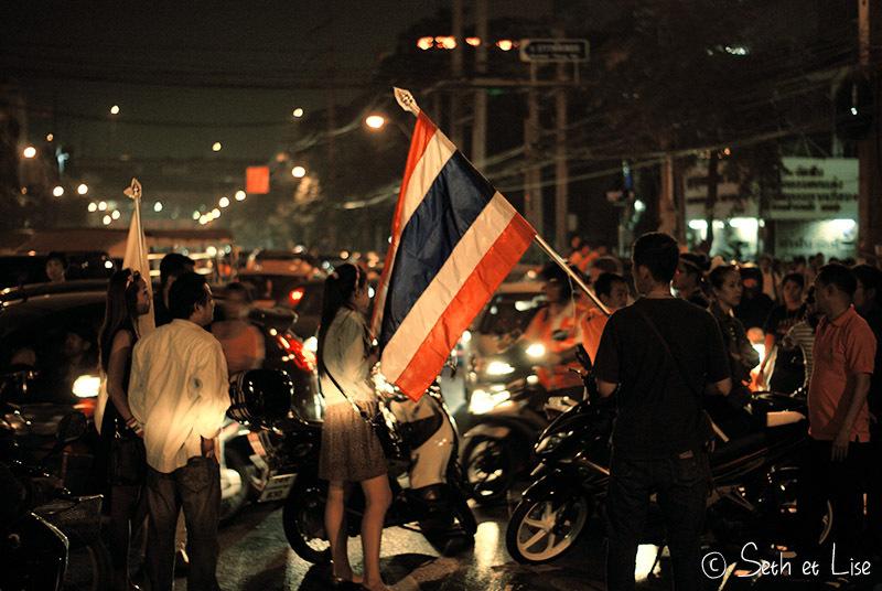 Arrivée à Bangkok sous les sifflets!