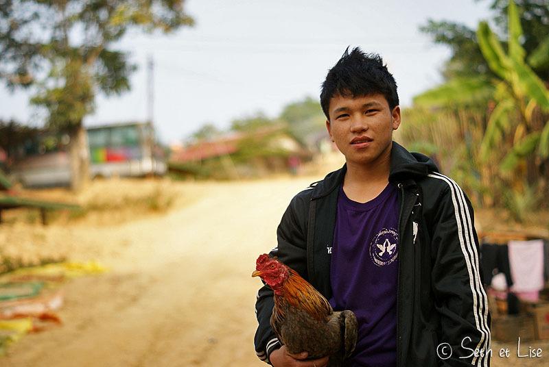 La vie rurale à Luang Prabang