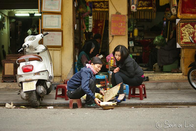 Vietnam, ce peuple qui vit dans la rue.