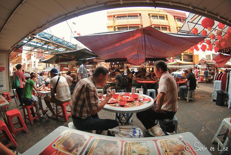 Petronas Towers et gastronomie malaisienne