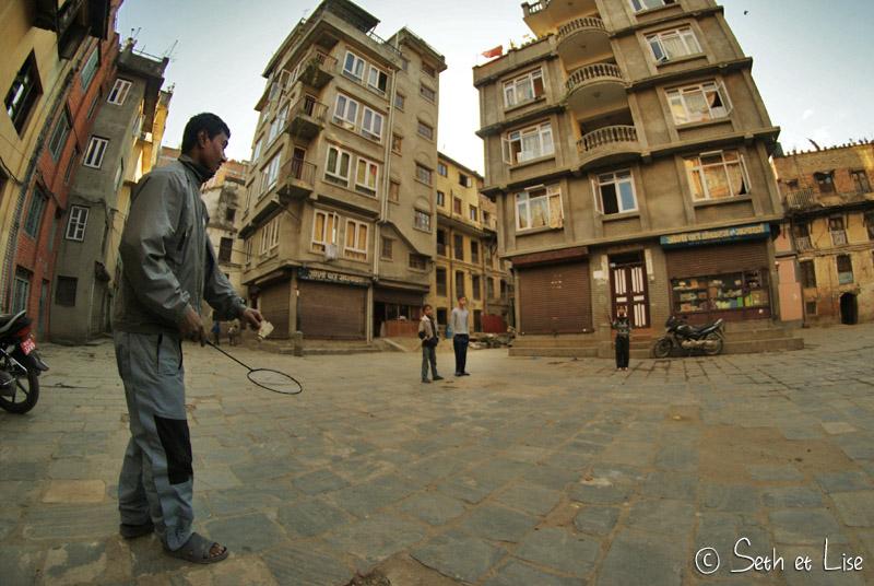 Cours insolites à Katmandou